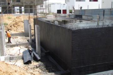 איטום קירות מרתף בקיסריה